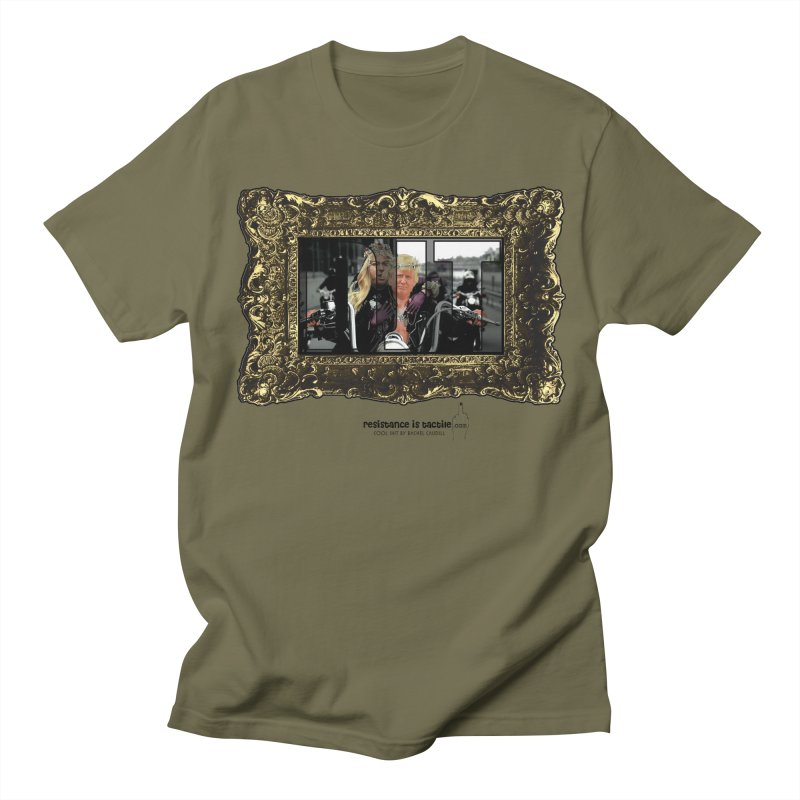 DJT on TWD on INRI Women's Regular Unisex T-Shirt by Resistance is Tactile