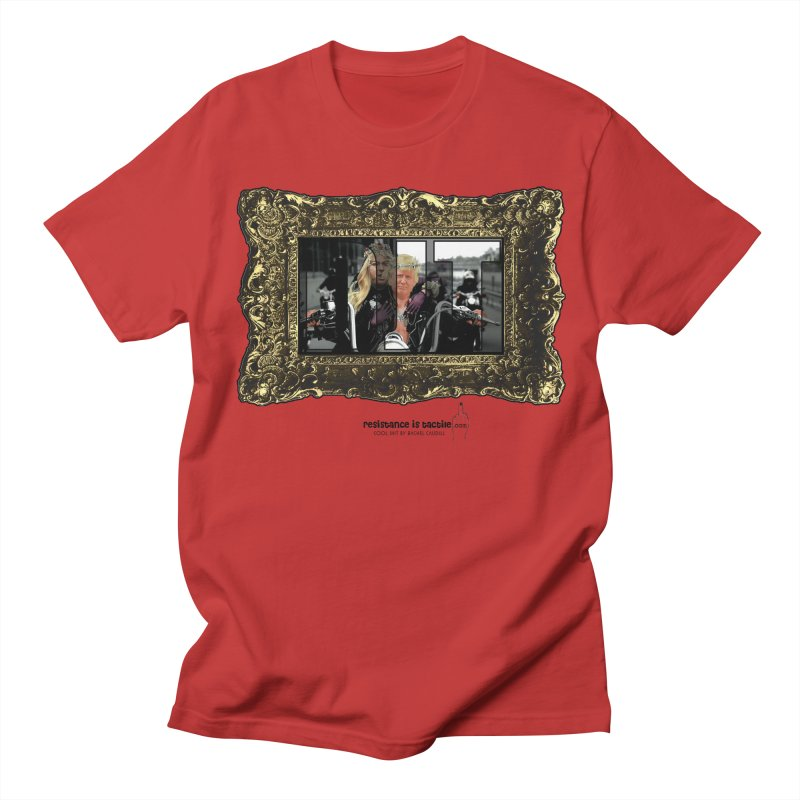 DJT on TWD on INRI Men's Regular T-Shirt by Resistance is Tactile