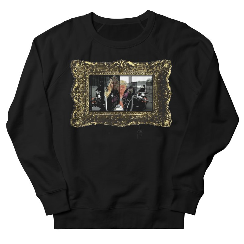 DJT on TWD on INRI Women's French Terry Sweatshirt by Resistance is Tactile