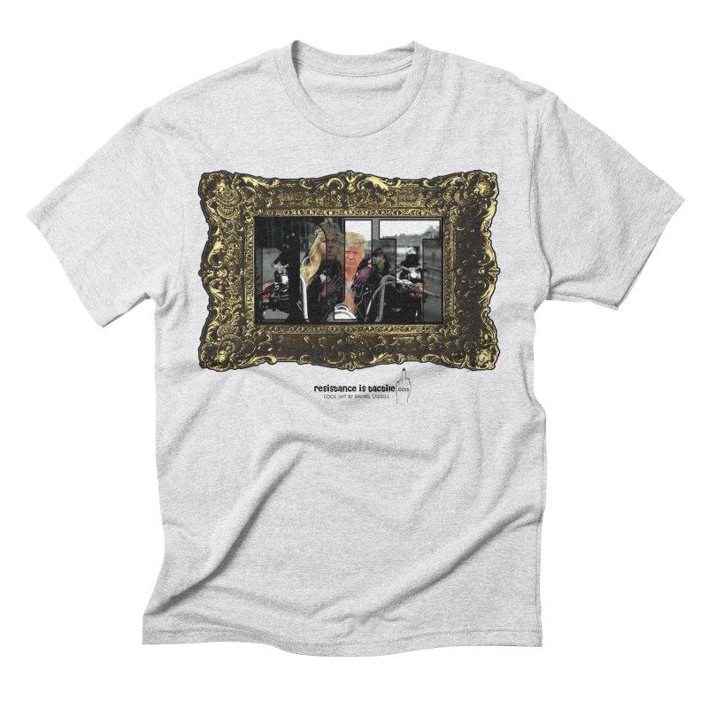 DJT on TWD on INRI Men's Triblend T-Shirt by Resistance is Tactile