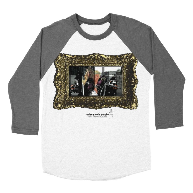 DJT on TWD on INRI Women's Longsleeve T-Shirt by Resistance is Tactile