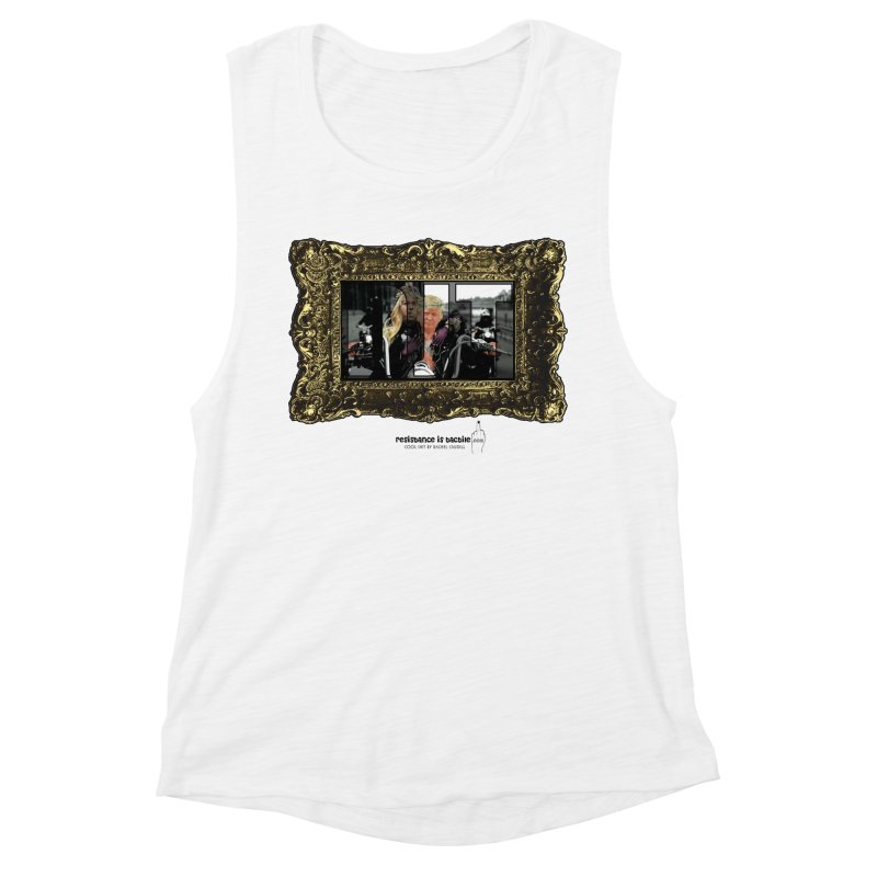 DJT on TWD on INRI Women's Muscle Tank by Resistance is Tactile