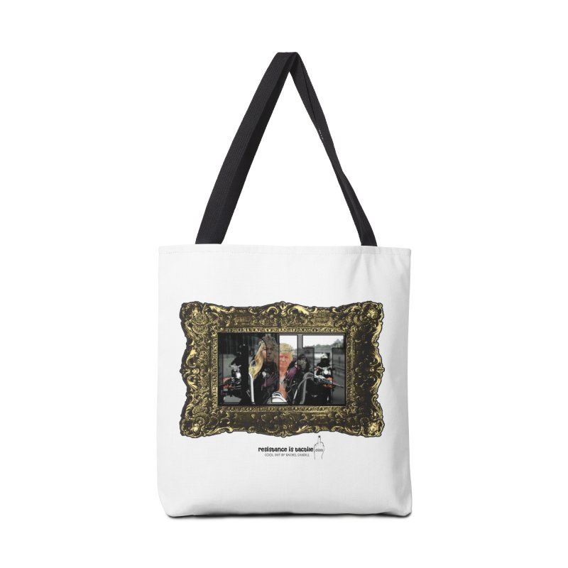 DJT on TWD on INRI Accessories Tote Bag Bag by Resistance is Tactile