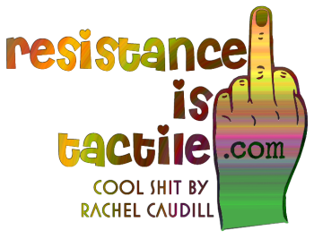 Resistance is Tactile Logo