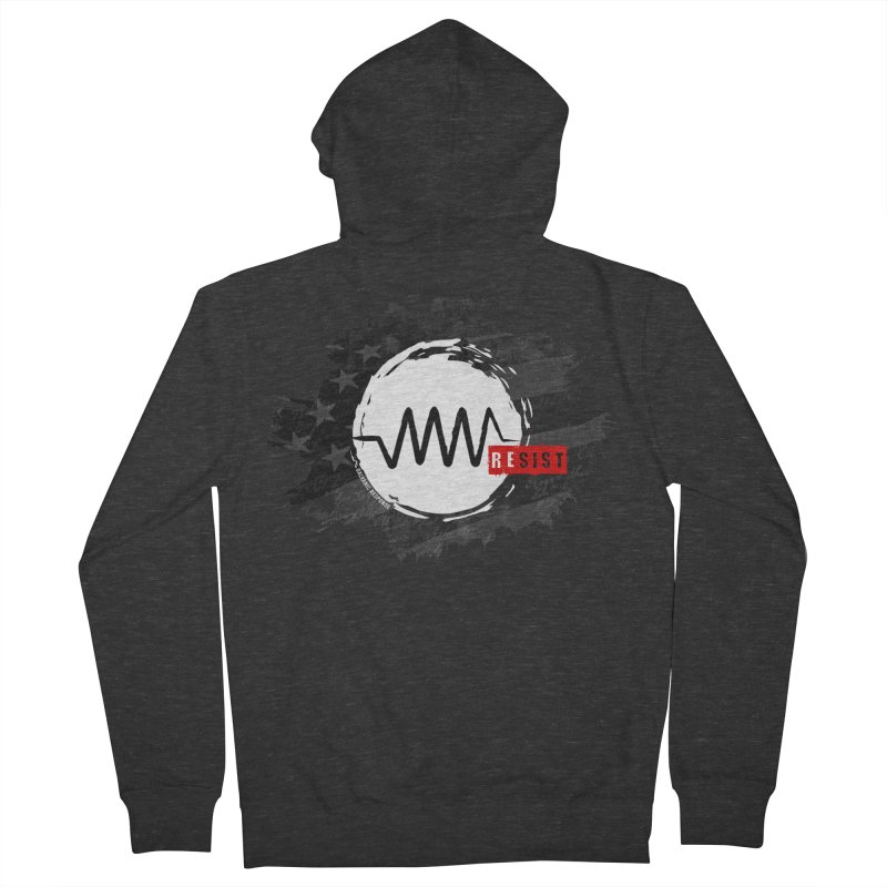 Resist - 1776 Edition Men's French Terry Zip-Up Hoody by Resist Symbol