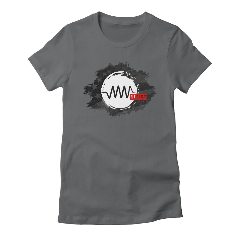 Resist - 1776 Edition Women's Fitted T-Shirt by Resist Symbol