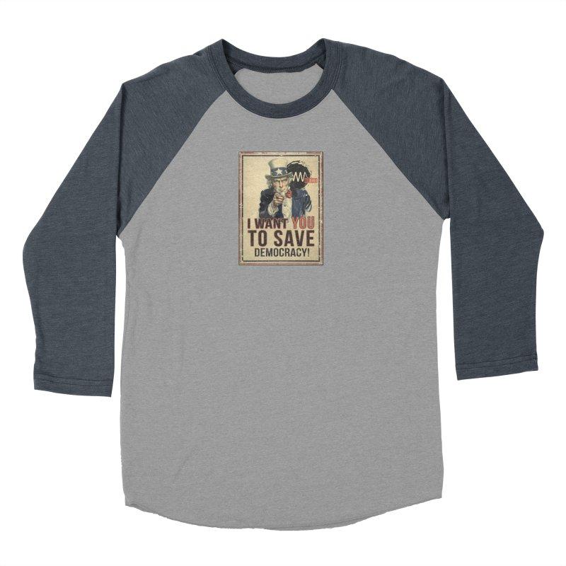 I Want You Women's Longsleeve T-Shirt by Resist Symbol