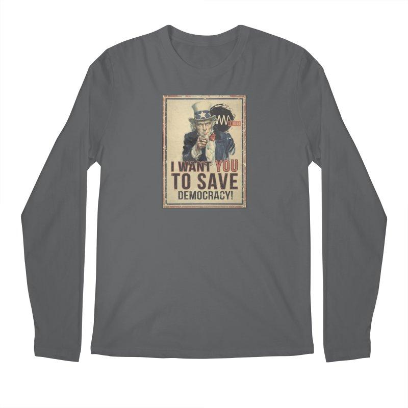 I Want You Men's Regular Longsleeve T-Shirt by Resist Symbol