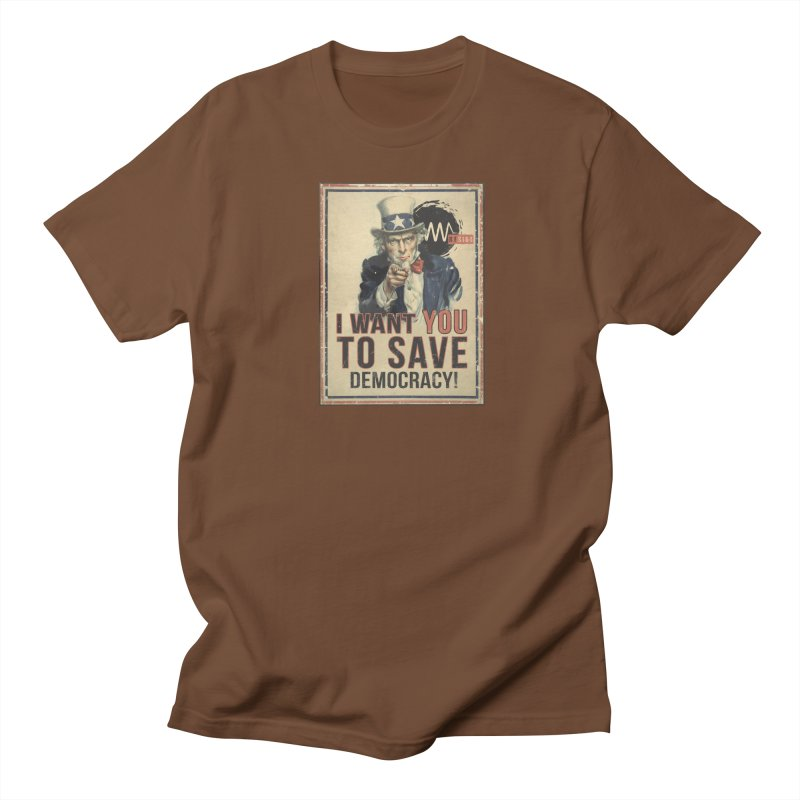 I Want You Women's Regular Unisex T-Shirt by Resist Symbol