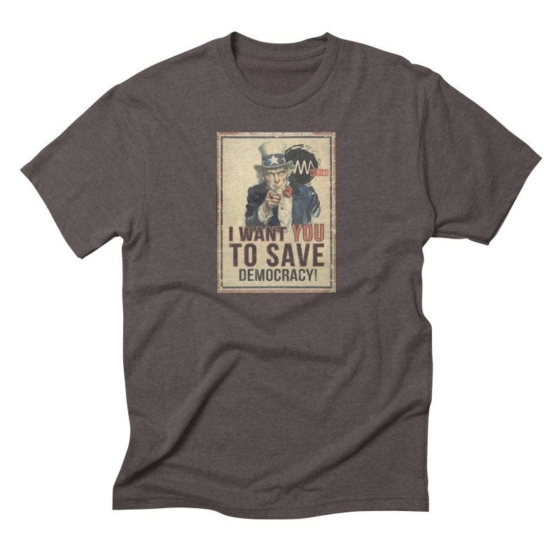 I Want You Men's Triblend T-shirt by Resist Symbol