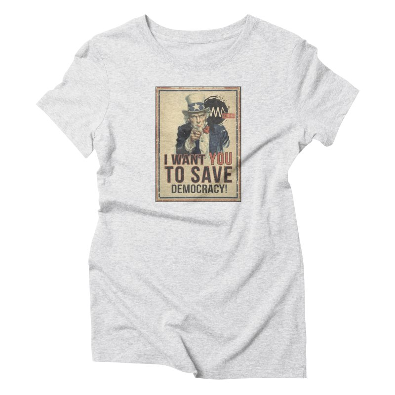 I Want You Women's T-Shirt by Resist Symbol