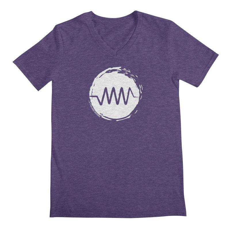 Resist (wordless) Men's V-Neck by Resist Symbol