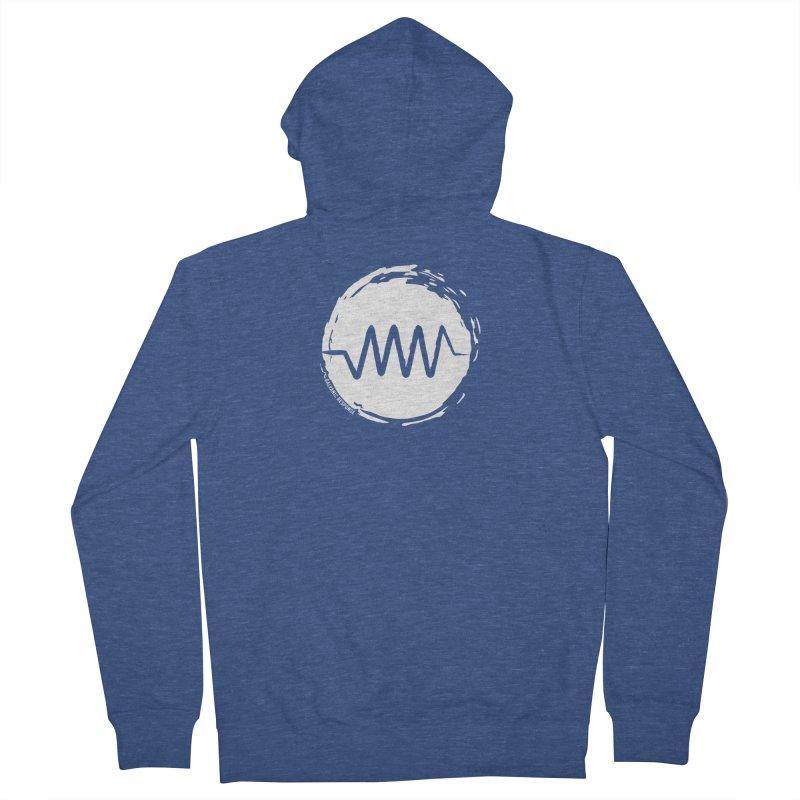 Resist (wordless) Men's Zip-Up Hoody by Resist Symbol