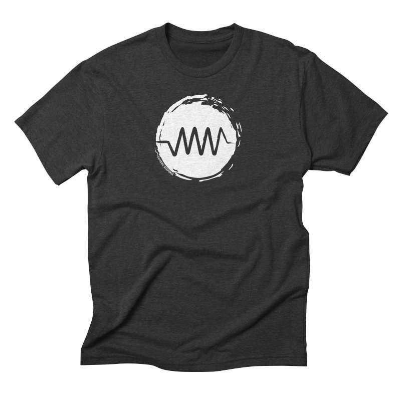 Resist (wordless) Men's Triblend T-Shirt by Resist Symbol