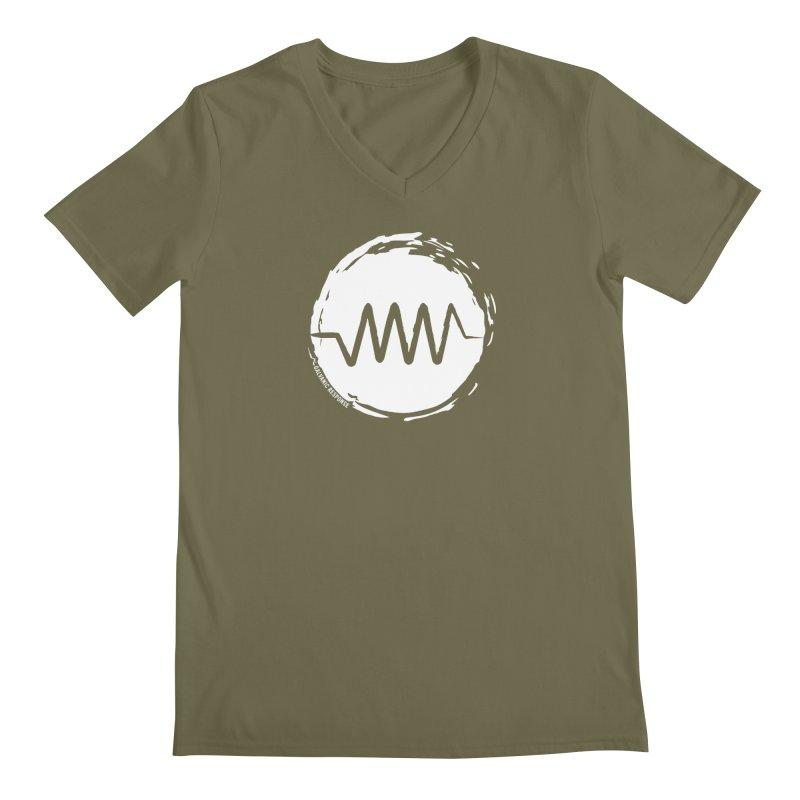 Resist (wordless) Men's Regular V-Neck by Resist Symbol