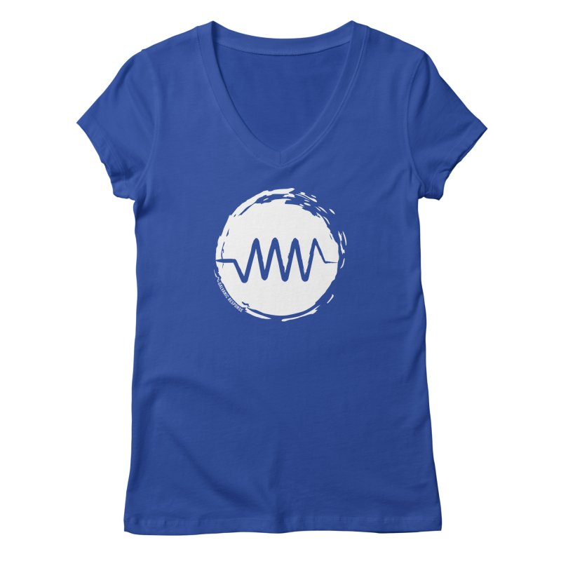 Resist (wordless) Women's Regular V-Neck by Resist Symbol