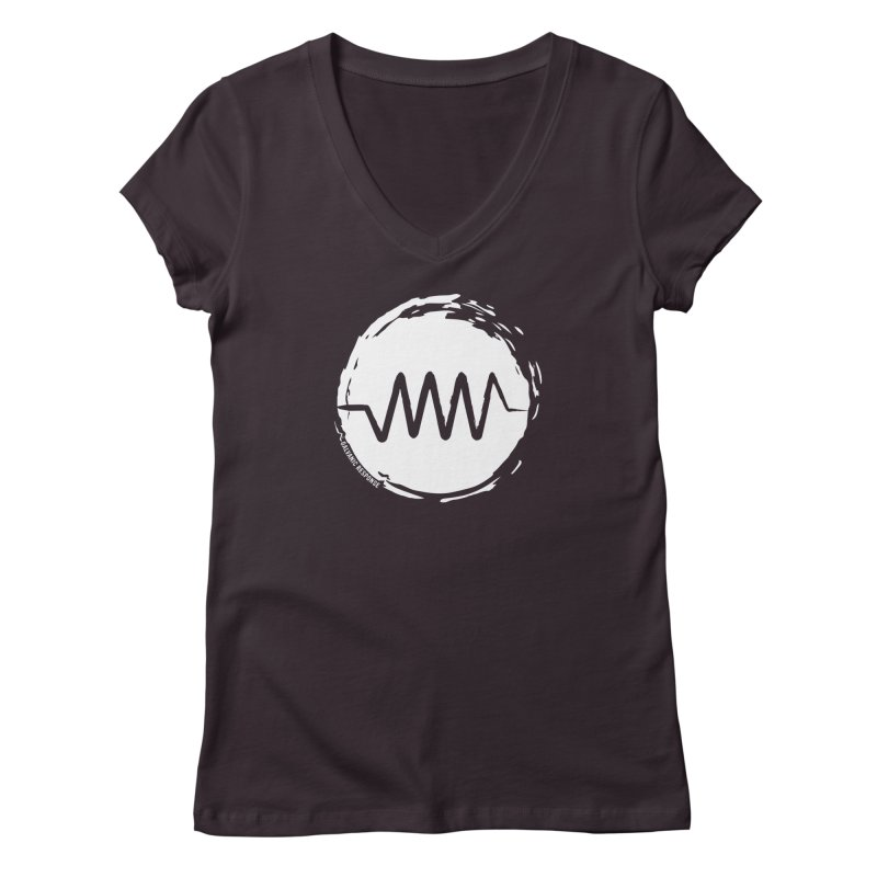 Resist (wordless) Women's Regular V-Neck by Resist Symbol