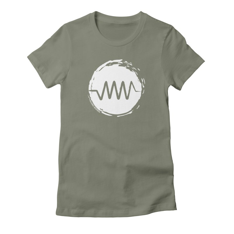 Resist (wordless) Women's Fitted T-Shirt by Resist Symbol