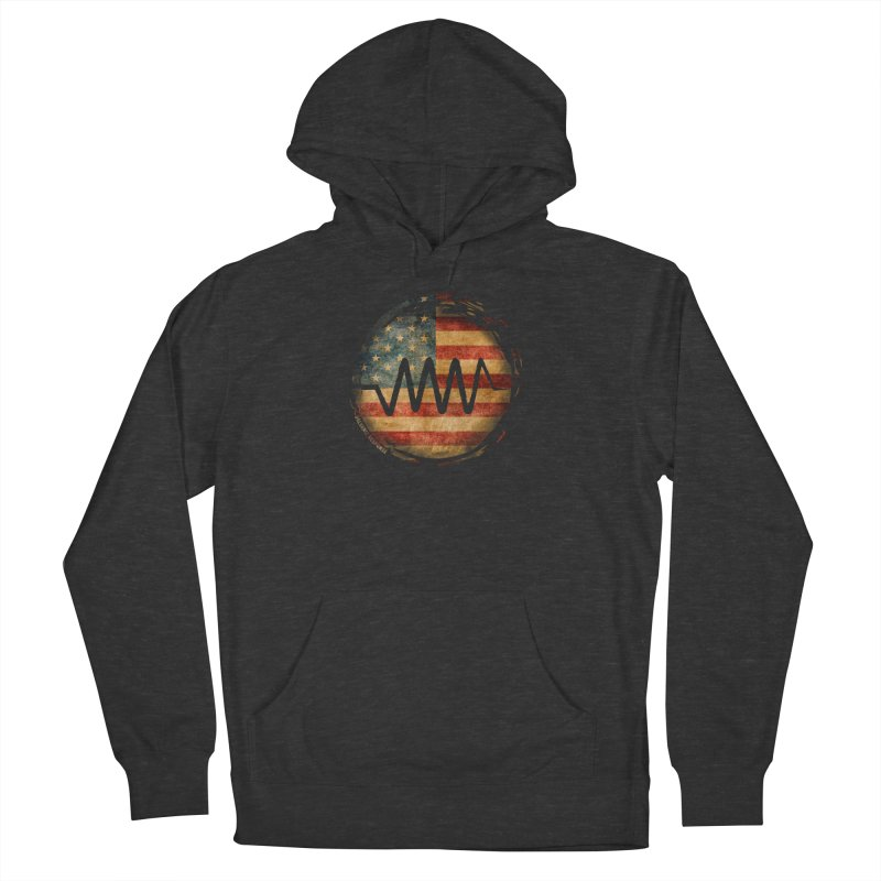Resist - USA Edition Women's French Terry Pullover Hoody by Resist Symbol