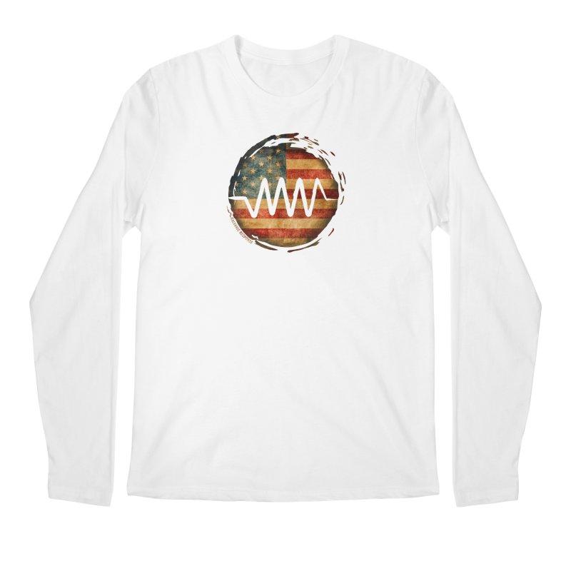 Resist - USA Edition Men's Regular Longsleeve T-Shirt by Resist Symbol