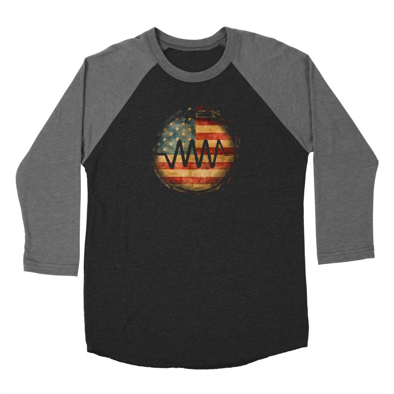 Resist - USA Edition Women's Baseball Triblend T-Shirt by Resist Symbol