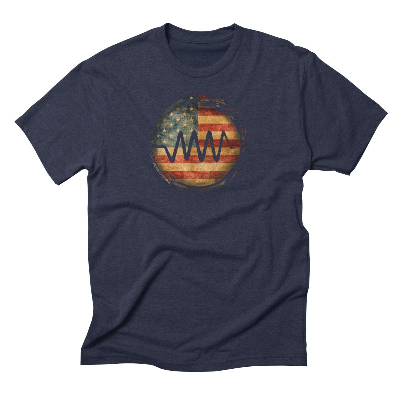 Resist - USA Edition Men's Triblend T-shirt by Resist Symbol