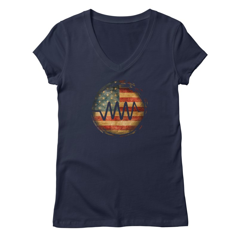 Resist - USA Edition Women's V-Neck by Resist Symbol