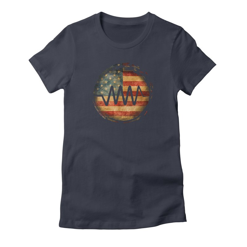 Resist - USA Edition Women's Fitted T-Shirt by Resist Symbol