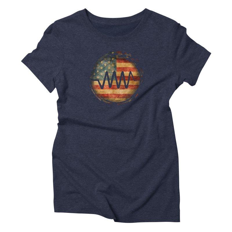 Resist - USA Edition Women's Triblend T-Shirt by Resist Symbol