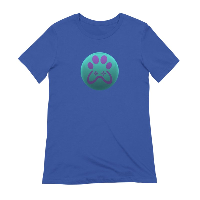 Controller Paw Logo Women's Extra Soft T-Shirt by Respawnd Event's Merch Store