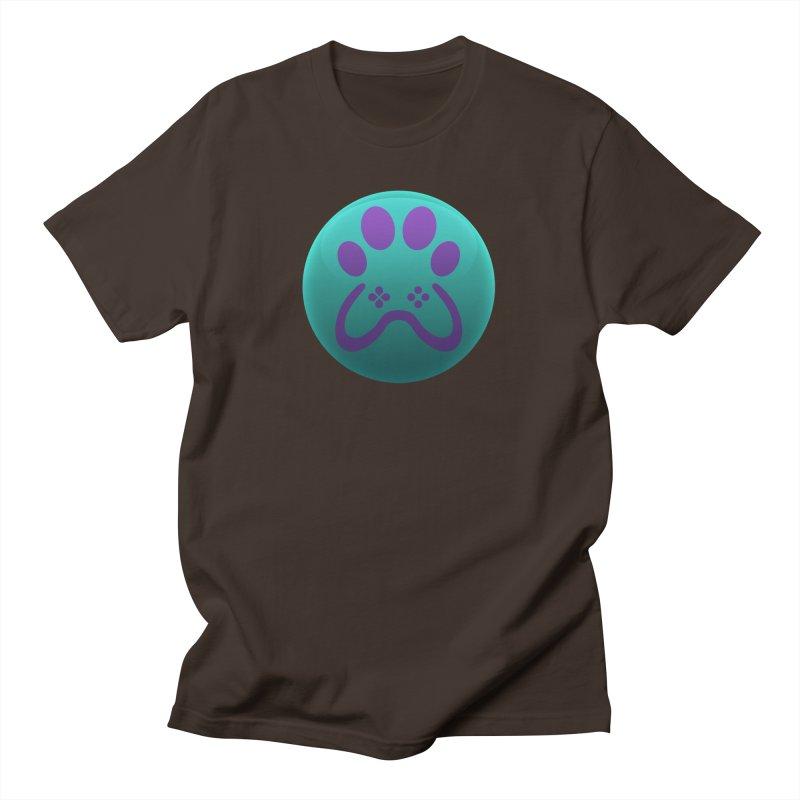Controller Paw Logo Men's T-Shirt by Respawnd Event's Merch Store