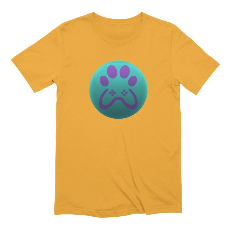 Controller Paw Logo Men's Extra Soft T-Shirt by Respawnd Event's Merch Store
