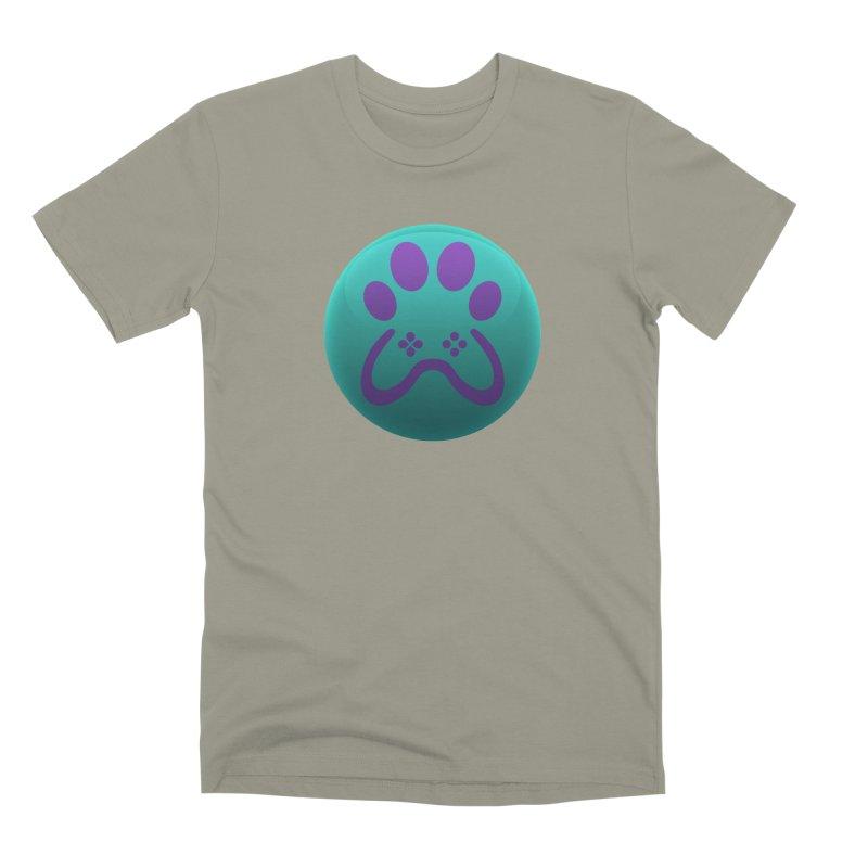 Controller Paw Logo Men's Premium T-Shirt by Respawnd Event's Merch Store