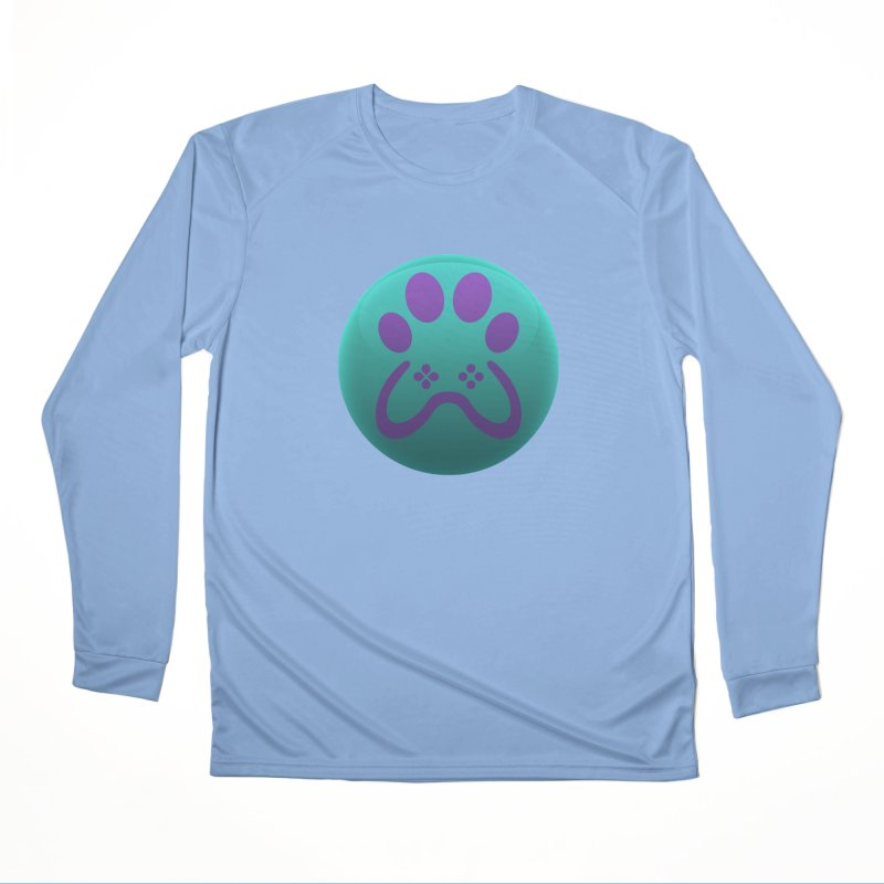 Controller Paw Logo Men's Performance Longsleeve T-Shirt by Respawnd Event's Merch Store