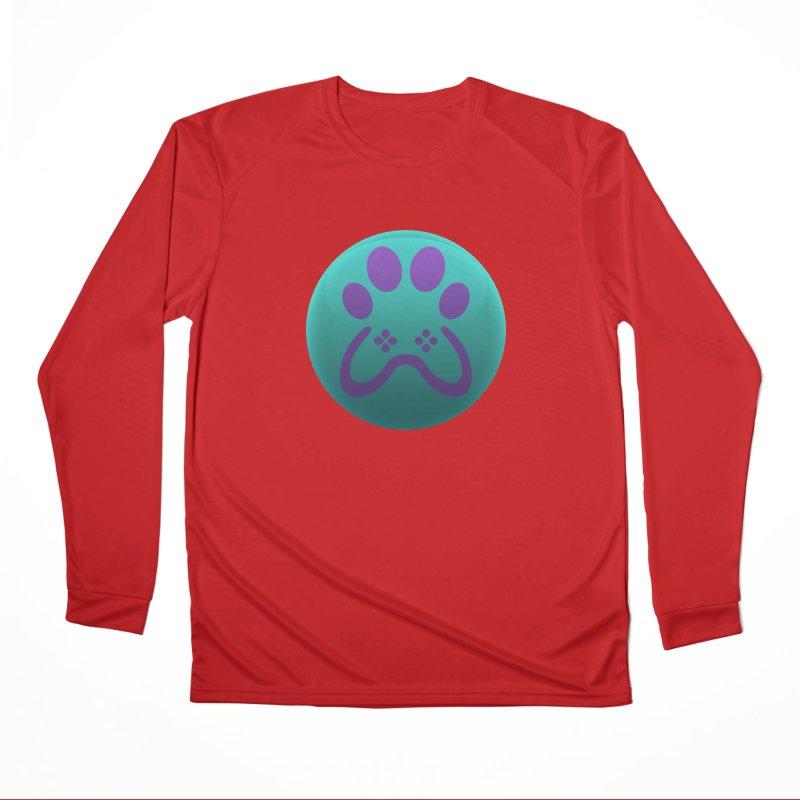 Controller Paw Logo Women's Performance Unisex Longsleeve T-Shirt by Respawnd Event's Merch Store