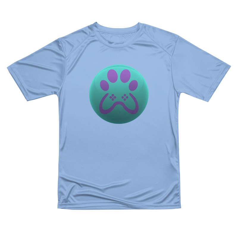 Controller Paw Logo Women's Performance Unisex T-Shirt by Respawnd Event's Merch Store