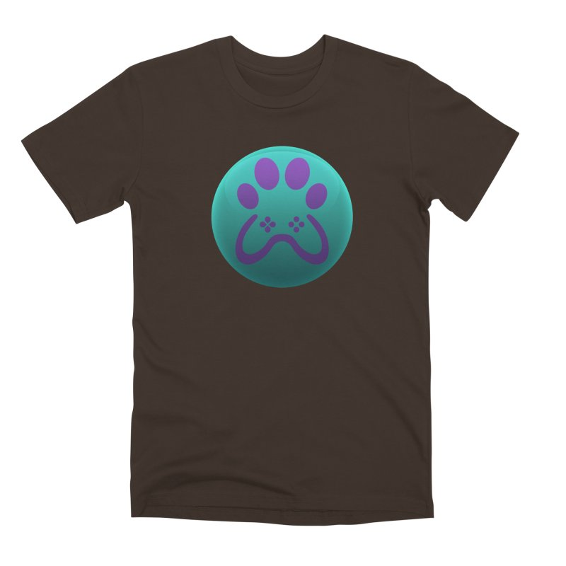 Controller Paw Logo Men's Premium T-Shirt by Respawnd Event's Merch Store