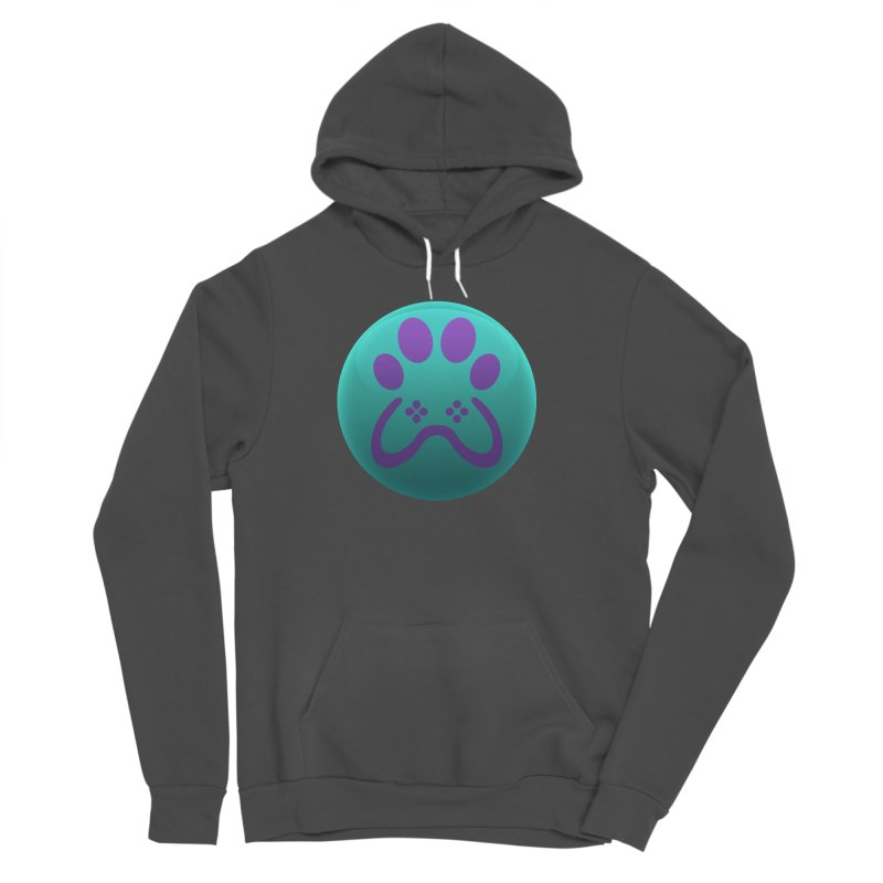 Controller Paw Logo Women's Sponge Fleece Pullover Hoody by Respawnd Event's Merch Store