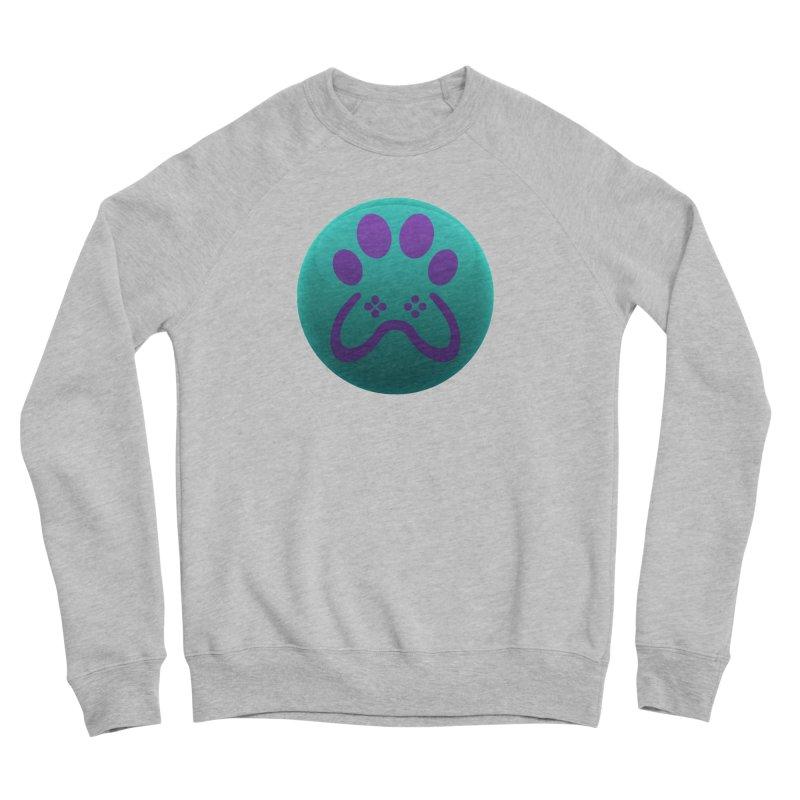 Controller Paw Logo Men's Sponge Fleece Sweatshirt by Respawnd Event's Merch Store