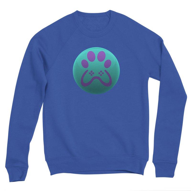 Controller Paw Logo Women's Sponge Fleece Sweatshirt by Respawnd Event's Merch Store