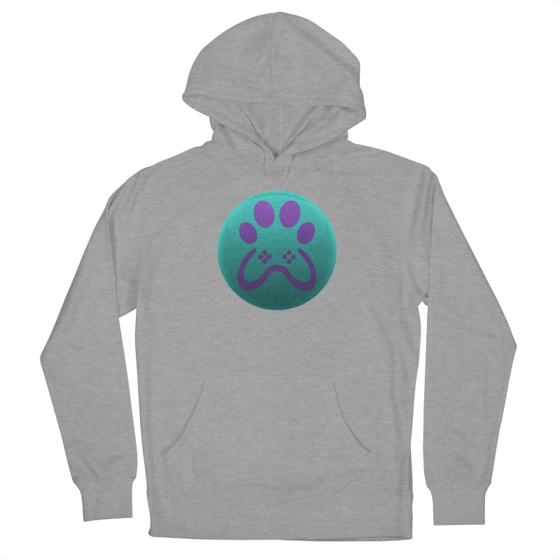 Controller Paw Logo Men's French Terry Pullover Hoody by Respawnd Event's Merch Store
