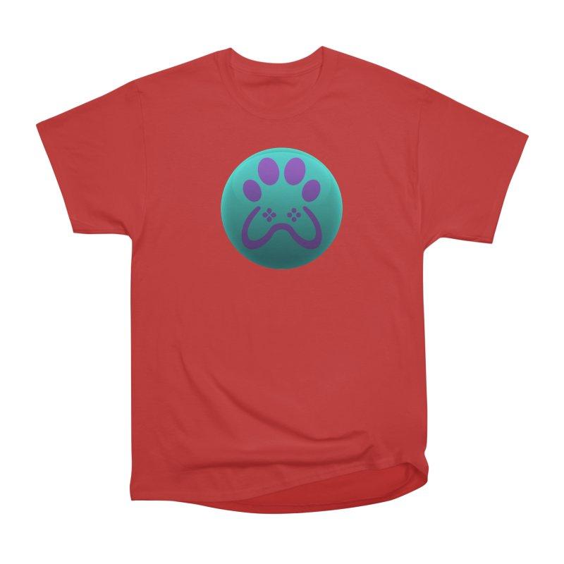 Controller Paw Logo Women's Heavyweight Unisex T-Shirt by Respawnd Event's Merch Store