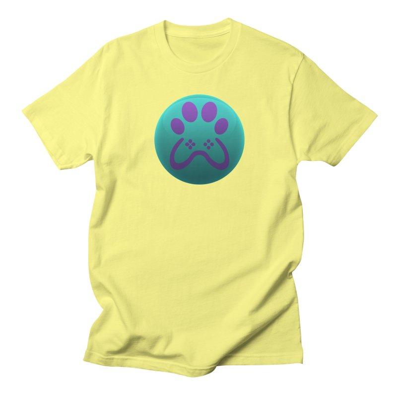 Controller Paw Logo Men's Regular T-Shirt by Respawnd Event's Merch Store