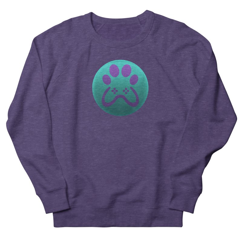 Controller Paw Logo Women's French Terry Sweatshirt by Respawnd Event's Merch Store