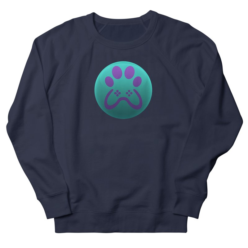 Controller Paw Logo Men's French Terry Sweatshirt by Respawnd Event's Merch Store