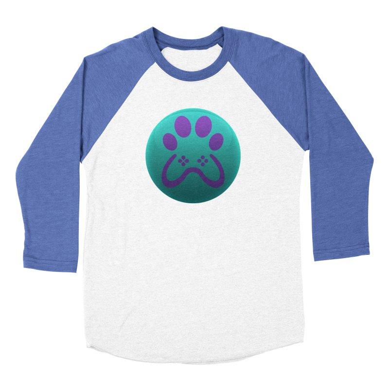 Controller Paw Logo Men's Baseball Triblend Longsleeve T-Shirt by Respawnd Event's Merch Store