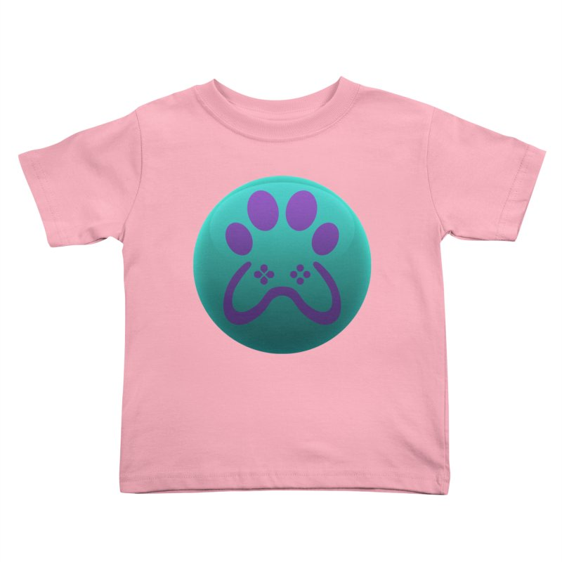 Controller Paw Logo Kids Toddler T-Shirt by Respawnd Event's Merch Store