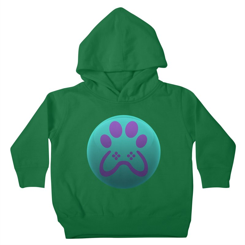 Controller Paw Logo Kids Toddler Pullover Hoody by Respawnd Event's Merch Store