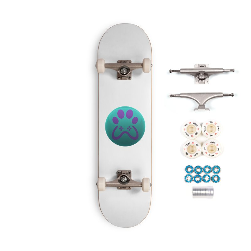 Controller Paw Logo Accessories Complete - Premium Skateboard by Respawnd Event's Merch Store