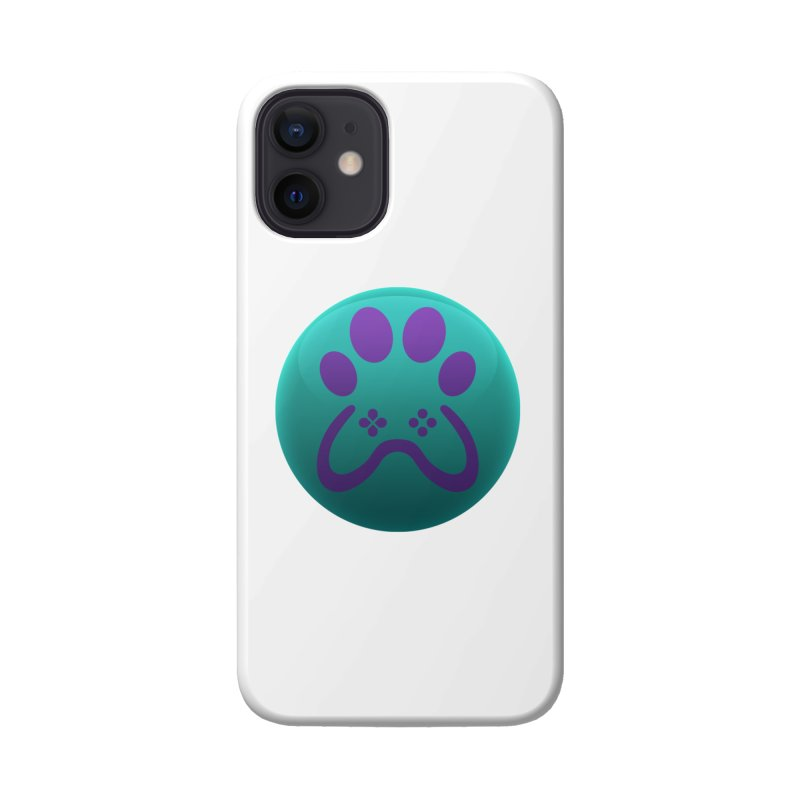 Controller Paw Logo Accessories Phone Case by Respawnd Event's Merch Store